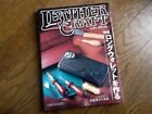 Japanese Leather Work Handmade Craft Pattern Book How to make long wallets