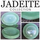 10pc Lot Fire King Jadeite Jane Ray Dishes Oval Platter Dinner Plate
