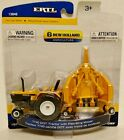 ERTL New Holland DOT 7740 w ROPS with Flex Wing Mower NIP VERY NICE HTF 1 64