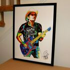 Brad Paisley Vocals Guitar Songwriter Country Music Poster Print Wall Art 18x24
