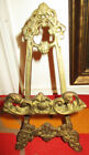 Vintage Decorative Brass Table Top PAINTING Or PHOTOGRAPH HOLDER Easel