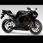 Full Fairing/Fender Graphic Kit Vinyl Sticker Decal CBR 600 600RR Black+Silver