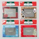 6 Pack Picture Frame Christmas Cards Envelopes 4X6 Photo Holiday Greeting Card