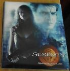 Serenity Trading Card Binder, Complete Base Set, Empty Box, and Empty Wrappers