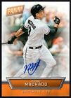 2016 PANINI NATIONAL CONVENTION #6 MANNY MACHADO SP AUTO 25 DODGERS ORIOLES