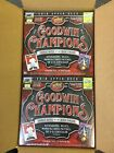 2018 Upper Deck Goodwin Champions Factory Sealed 2 HOBBY BOX LOT