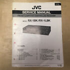 Original JVC Service Manual for RX Model Receivers ~ Select One