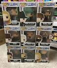 Westworld HBO TV Funko POP! Vinyl Fig Lot (9) with Dolores+Young Ford Exclusives