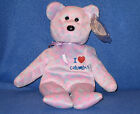 TY I LOVE COLUMBUS BEANIE BABY - STATE EXCLUSIVE - MINT with MINT TAGS