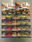 New Hot Wheels 50th Shop Trucks Lot of 8 60s Ford Econoline Pickup Subaru Brat