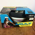 Vintage 80s 90s Variflex Bicycle Skateboard Mountain Bike BMX Roller Helmet Pink