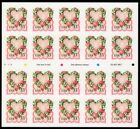 Victorian Love 33 Stamps Booklet Pane 20 3274a 1999 Mint NH Free Shipping