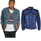 Only  Sons Mens Big King Size Jeans Jackets Casual Vintage Denim Shirts