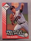 1993 Starting Lineup Prestige Pitchers Tom Glavine Braves Baseball Card
