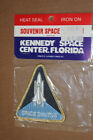 Vintage Kennedy Space Center Florida Space Shuttle Iron On Patch new in package
