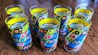 Libbey Flower Drinking Glasses Lot of 7 Mid Century Modern Floral, Retro