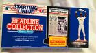 1992 Starting Lineup Headline Collection Rickey Henderson, NEW-SEALED, Oakland A