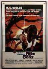 FOOD OF GODS Movie Poster Good+ One Sheet 1976 Horror Sci Fi 1200