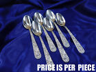 KIRK REPOUSSE STERLING SILVER TEASPOON - EXCELLENT CONDITION
