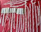 Huge lot of French Antique Lace Valenncia Trim  yards edging insertion