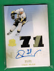 2009-10 UPPER DECK THE CUP EVGENI MALKIN AUTO ON CARD DUAL PATCH RELIC 27 71