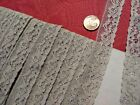 Tan French Antique Lace Alencon  Trim 6  yards +21