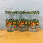 Vintage Spice of Life Drinking Glasses Tall Tumblers 5 3/4