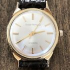 Vintage Girard Perregaux Gyromatic Solid 14k Gold Presentation Watch 17j