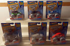 DTE SET OF 6 2013 CARD HOT WHEELS MONSTER JAM SPECIAL HOLIDAY EDITION NIOP