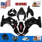 Injection Black Fairing Kit Fit for Suzuki 2003-2008 SV650 SV1000 Plastic m02
