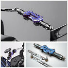 CNC Alloy Motorcycle Handle Drag Bar Bracket Mount Stand Dock Clamp on Charger