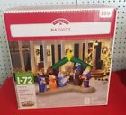 Holiday Time Nativity Scene Inflatable Blow Up 8 FT Wide NIB FAST SHIPPING
