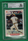 1993 NABISCO ALL-STAR WILLIE STARGELL AUTO ON CARD BECKETT AUTHENTIC