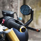 UNIVERSAL For Bobber Cafe Racer Motorcycle Side Mirrors 7/8