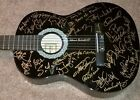 FRANK SINATRA CELEBRITY GOLF EVENT SIGNED GUITAR X39 SPORTS MUSIC MOVIE TV STARS