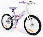 New Girls Silverfox Single Speed Flutter 18 Inch Bike Lavender White UK Size 1