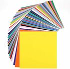 49 Pack Self Adhesive Vinyl Sheets Colors Cricut Silhouette Cameo Decal 12 x 12