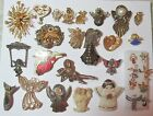 Vintage to Now Sweet Lot All Angel Pins  Brooches