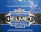 2018 Leaf Autographed Full Size Football Helmet Edition 3 Box Case
