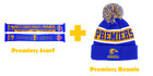 West Coast Eagles AFL 2018 Premiers Scarf and Pom Pom Beanie Combo Offer!