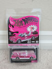 BRAND NEW HOT WHEELS RLC RED LINE CLUB EXCLUSIVE CONVENTION PINK BATMOBILE
