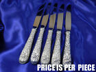 KIRK REPOUSSE STERLING SILVER PLACE KNIFE - VERY GOOD CONDITION