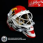 ED BELFOUR SIGNED AUTOGRAPHED GOALIE MASK ICE READY CHICAGO BLACKHAWKS COA