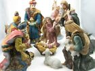 Christmas Nativity Figurines 12 Exquisite Porcelain Hand Painted Pieces