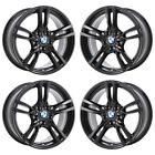18 BMW 320i 328i 330i 335i 320i 428i 430i BLACK WHEELS RIMS FACTORY OEM 71616