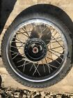 1986 Honda XR80R Front Wheel And Tire