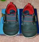 Stride Rite SM Cameron Leather Sneakers Infant Boys Size 5 M Navy
