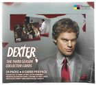 Dexter Season 3 Trading Card Factory Sealed Hobby Box -- 3 Box Lot Breygent 2010