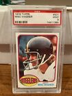 1976 Topps Mike Wagner Psa 9 Pittsburgh Steelers