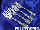 BARTON FRANCIS 1ST STERLING SILVER SALAD FORK - EXCELLENT CONDITION